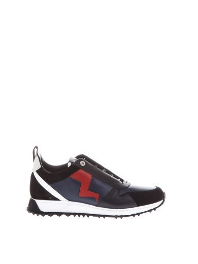Fendi Chaussures De Sport En Cuir Tonnerre oWb5lRuwpV