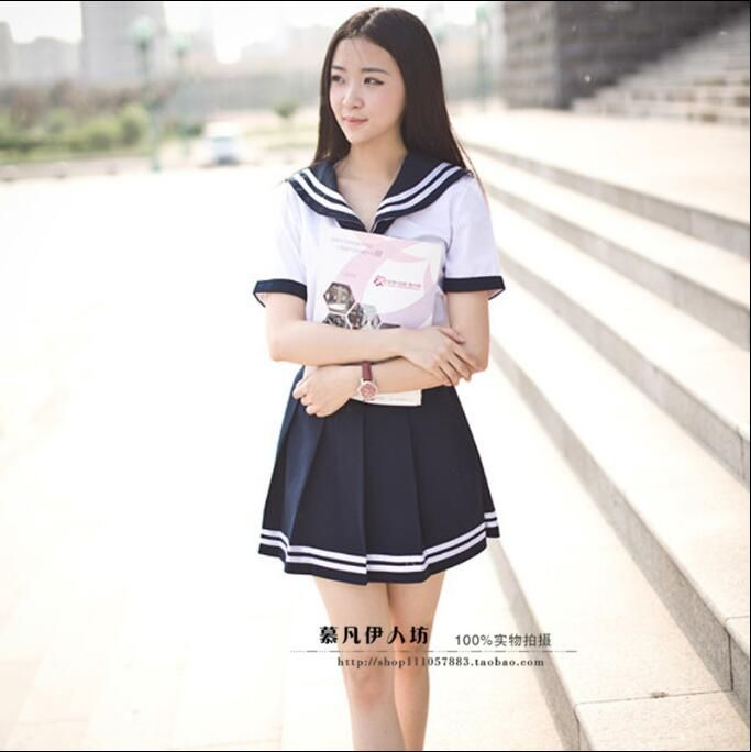 Asian salor sute girl
