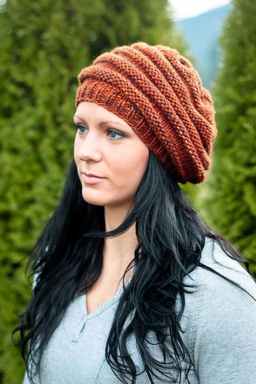 Projects on Craftsy: Wurm slouchy hat from Elena Nodel   knitting ...