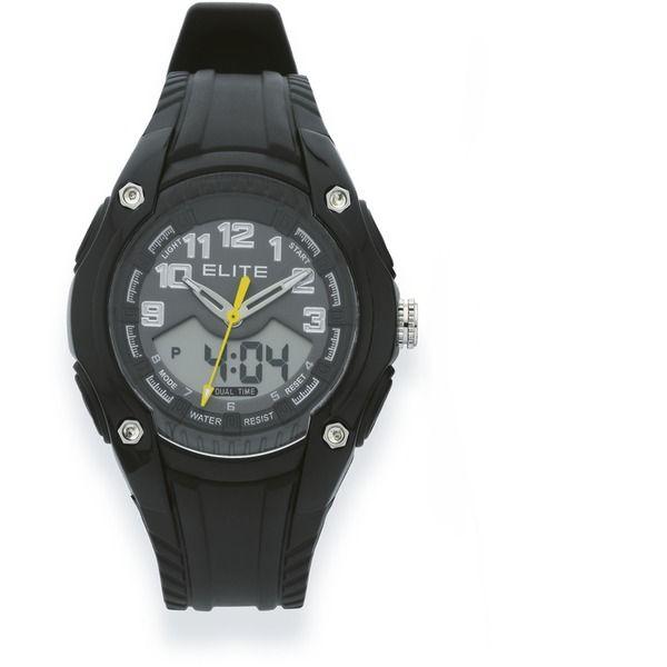 Elite Digital 50m Watch
