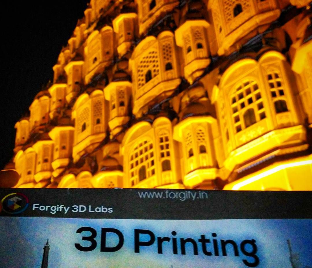 #hawamahal #forgify3dlabs #3dprintingindia #3dprinting #beautifuljaipur by prem_saran_7
