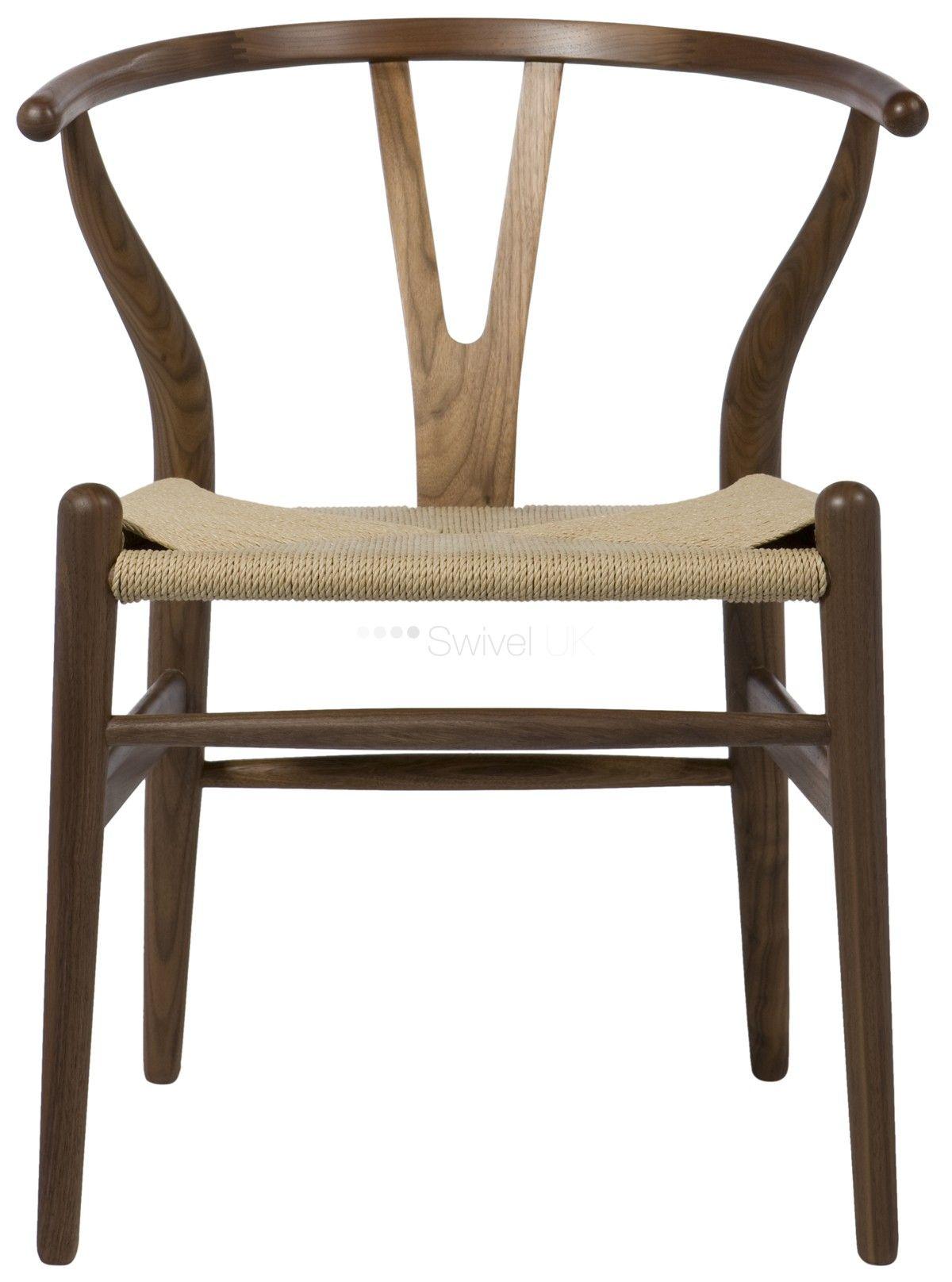 Hans J Wegner CH24 Wishbone Y Chair Style Möbler