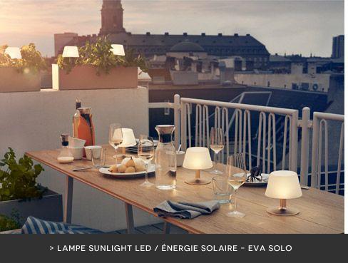 Illuminez vos soirées d été lampe extérieure Sunlight led