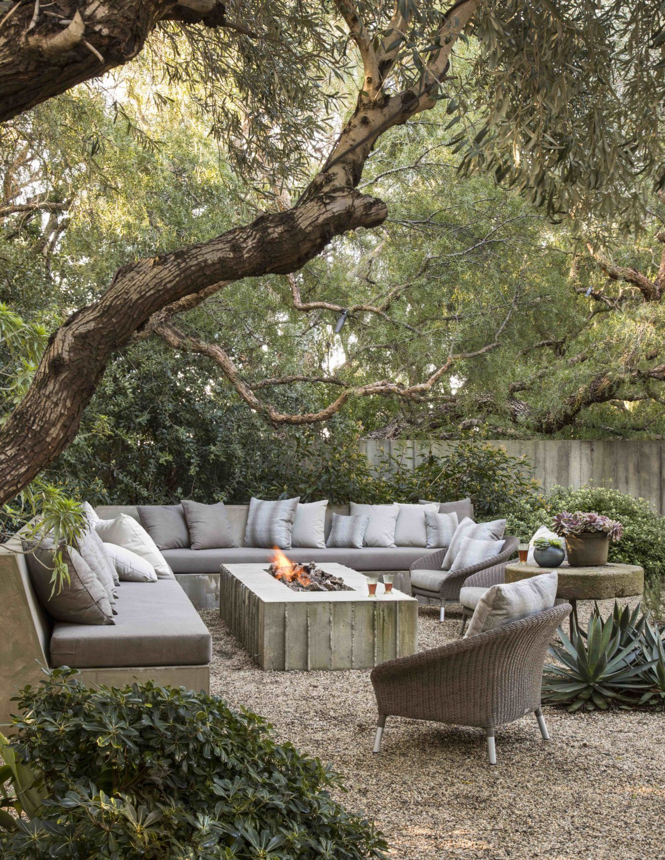 Landscape Architect Scott Shrader Shares His Garden Design Philosophy And His Ne Archit In 2020 Outdoor Rooms Outdoor Fireplace Backyard
