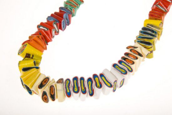 Plastic Bag Necklace By Margherita