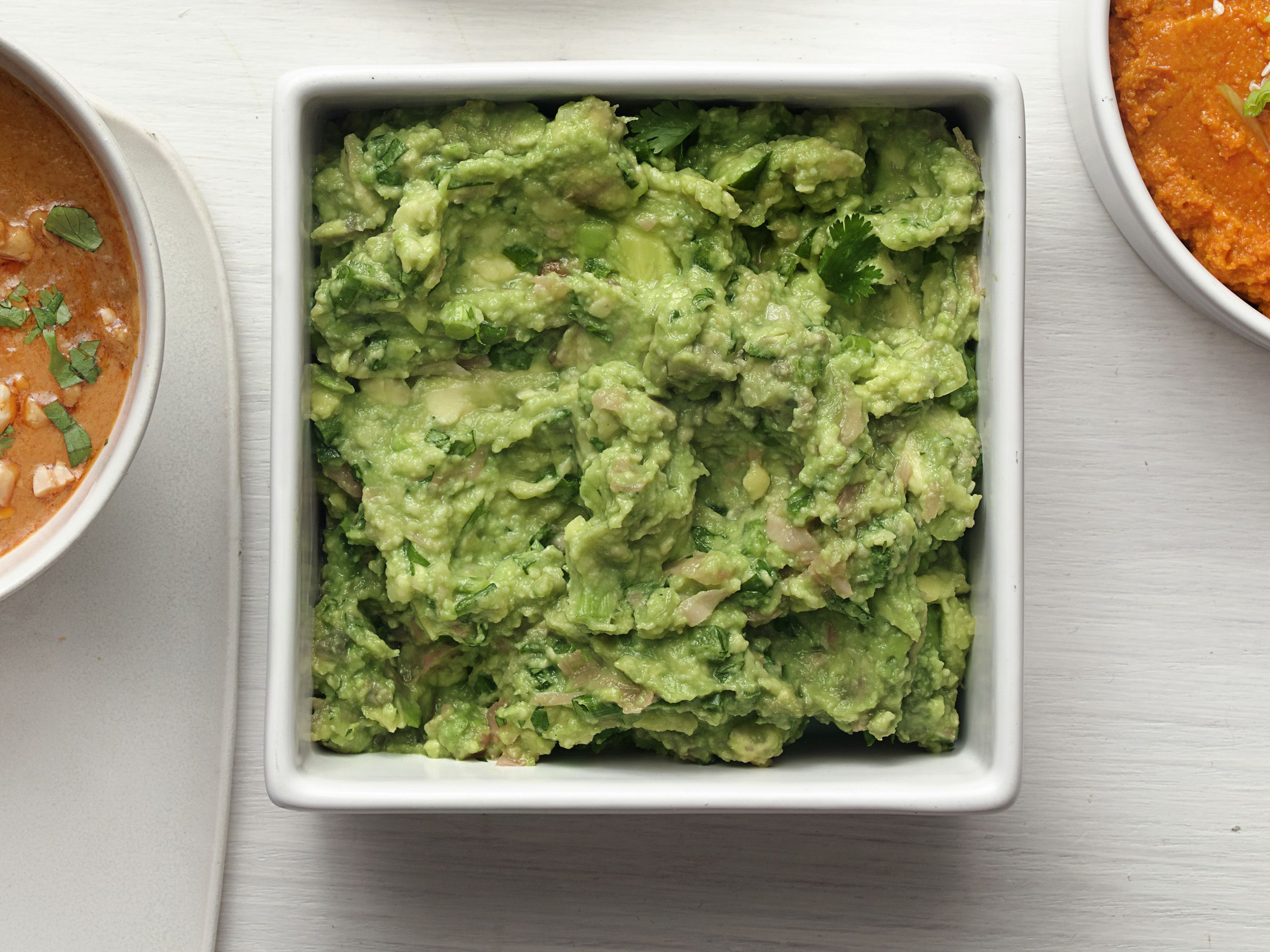 Wasabi guacamole with pickled ginger food network kitchen food wasabi guacamole with pickled ginger food network kitchen food network forumfinder Choice Image