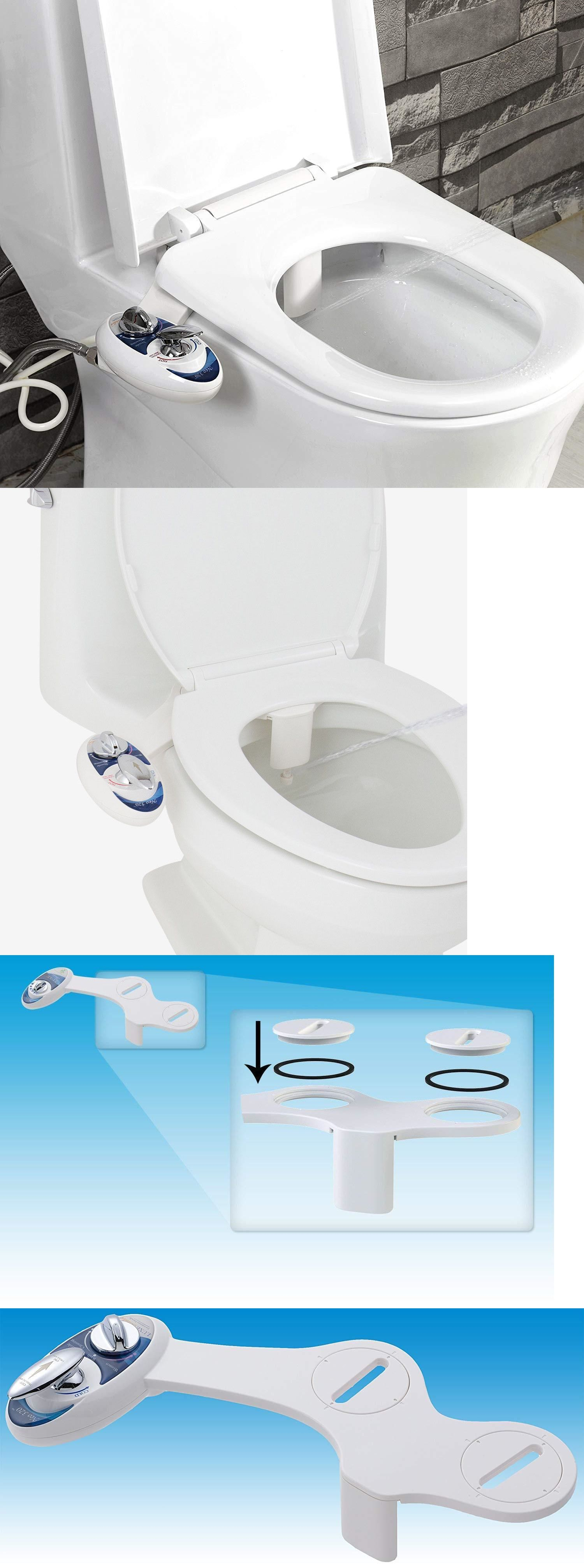 Bidets And Toilet Attachments 101405 Luxe Bidet Neo 320 Toilet