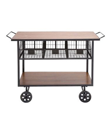Loving this Rolling Cart on #zulily! #zulilyfinds