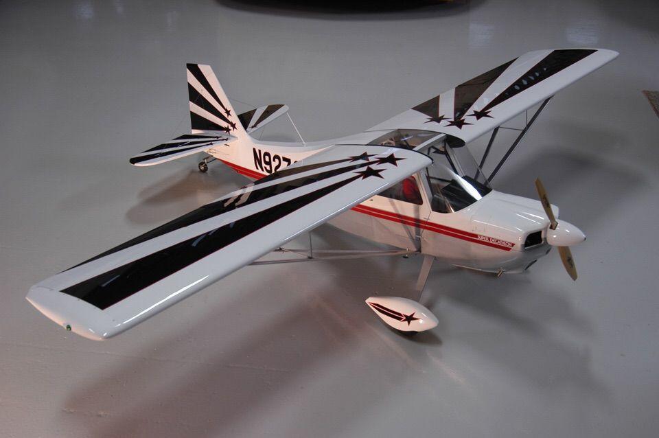 1/4 Scale Pilot Decathlon | Rc Airplanes/model planes