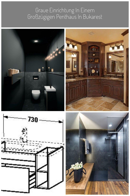 Badezimmer Dunkel Holz In 2020 Bathroom Bathtub