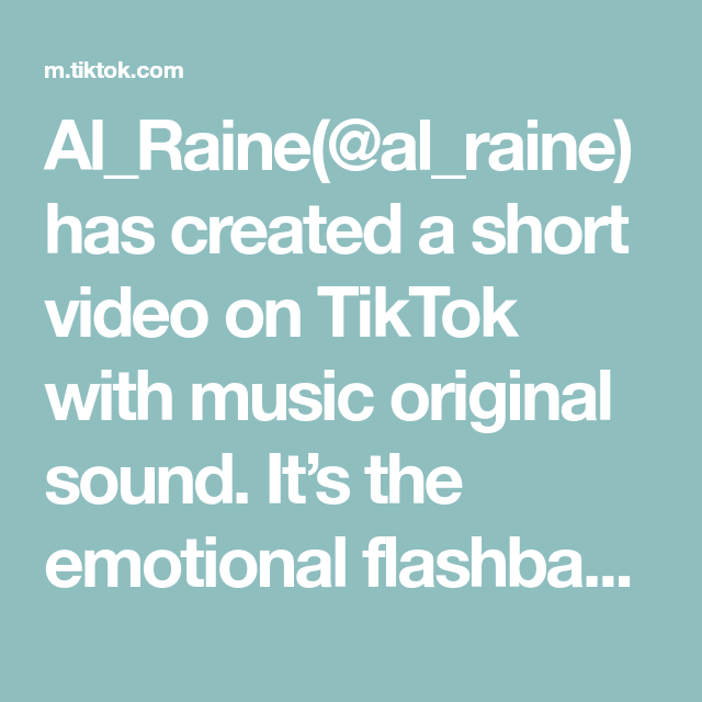 Al Raine Al Raine Has Created A Short Video On Tiktok With Music Original Sound It S The Emotional Flashbacks For Me Makeup Can In 2021 The Originals Music Sound