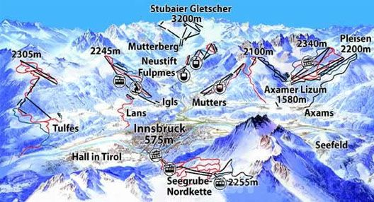 Home of 2 Winter Olympic games book a Innsbruck ski vacation in