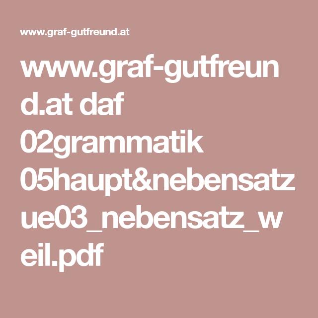 www.graf-gutfreund.at daf 02grammatik 05haupt&nebensatz ...