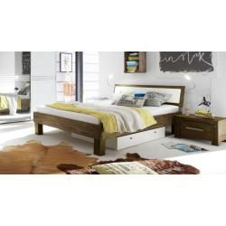 Photo of Futon bed / solid wood bed pine solid wood solid nut colors A10, incl. Slatted frame – dimension 140 x – bingefashion.com/dekor