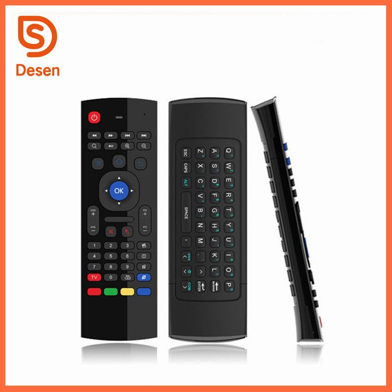 Customized multiple language MX3 universal remote control airmouse