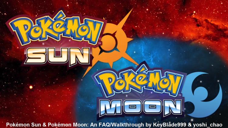 Pokemon Moon Faq X2f Walkthrough For 3ds By Keyblade999 Gamefaqs Pokemon Moon Pokemon Pokemon Sun