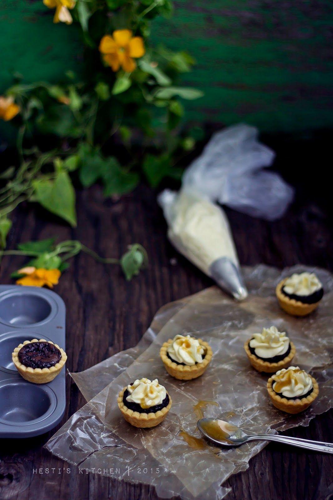 Hesti S Kitchen Yummy For Your Tummy Mini Brownie Pie With Butterscotch Sauce Makanan Dan Minuman Hidangan Penutup Ide Makanan