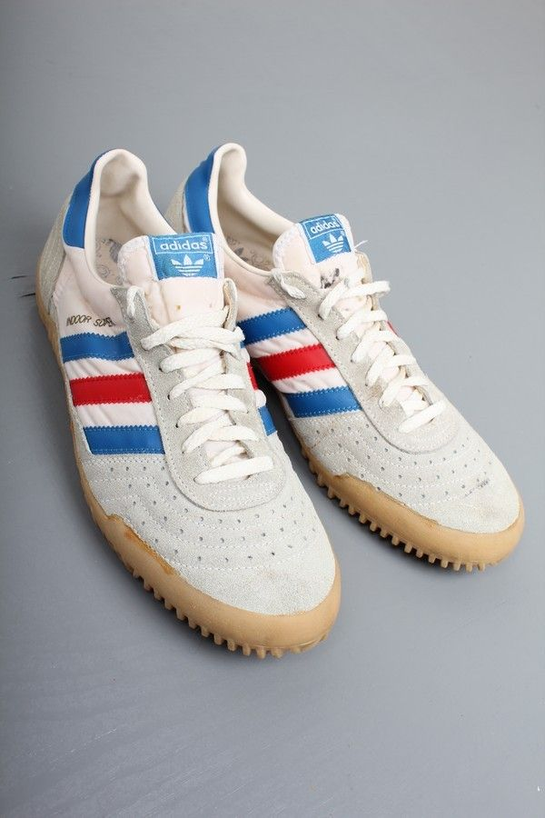 c49172db4 Vintage Adidas Indoor Super Trainers (10) Hallo