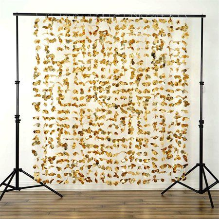 BalsaCircle 6 ft x 6 ft Flower Garland Backdrop Curtain - Wedding Party Photobooth Ceremony Event Photo Decorations - Walmart.com