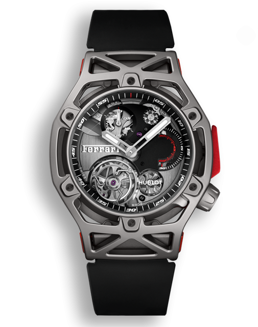 Hublot Techframe Ferrari Tourbillon Chronograph Titanium Hublot Watches Hublot Watch Design
