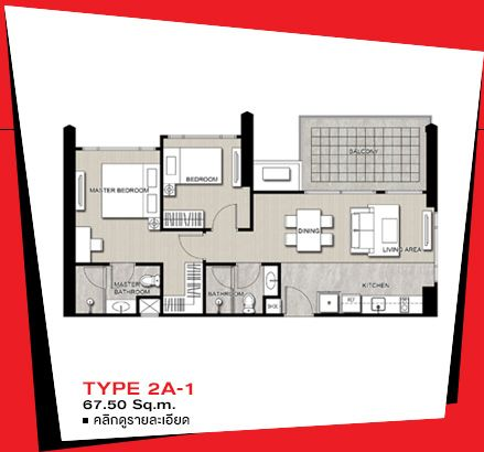 Edge Sukhumvit 23 Condominium Plan Room Planning House Plans Floor Plans