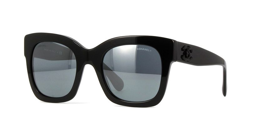 f130650c5e564 Chanel 5357 501 26 Black Sunglasses