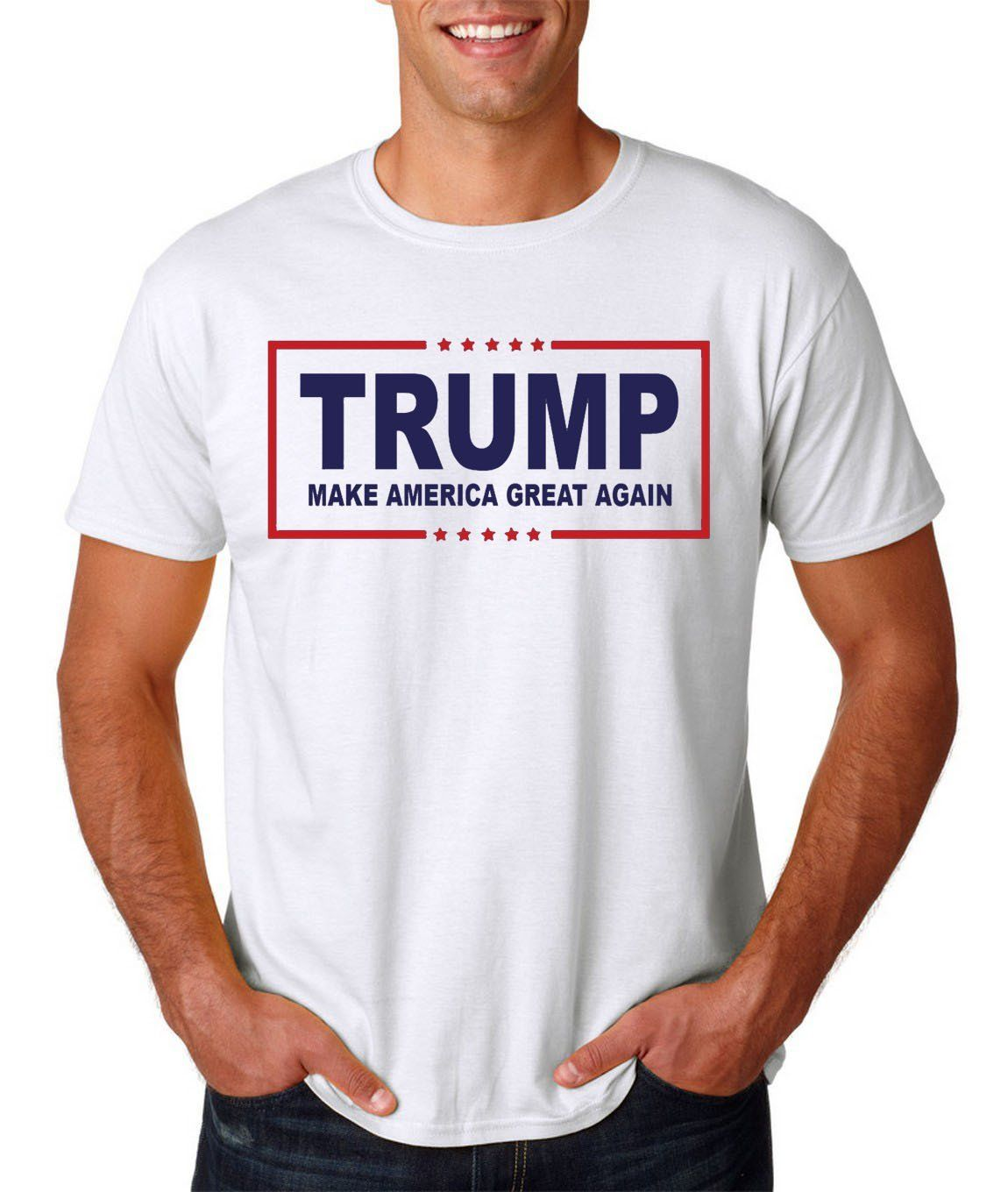Youth Donald Trump Make America Great Again Embroidered Pre-Shrunk Polo Shirt
