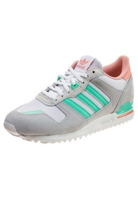adidas zx 700 grijs turquoise