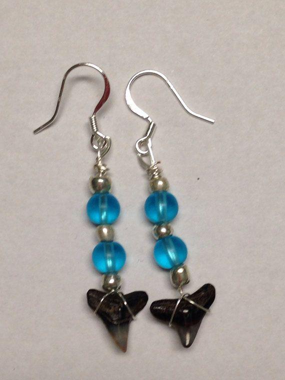 Sharks Teeth Earrings by DayDreamingDecor on Etsy, $10.00 ...