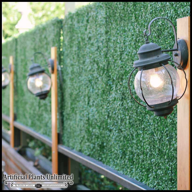 Vertical Garden Wall Outdoors Fence Privacy Screens