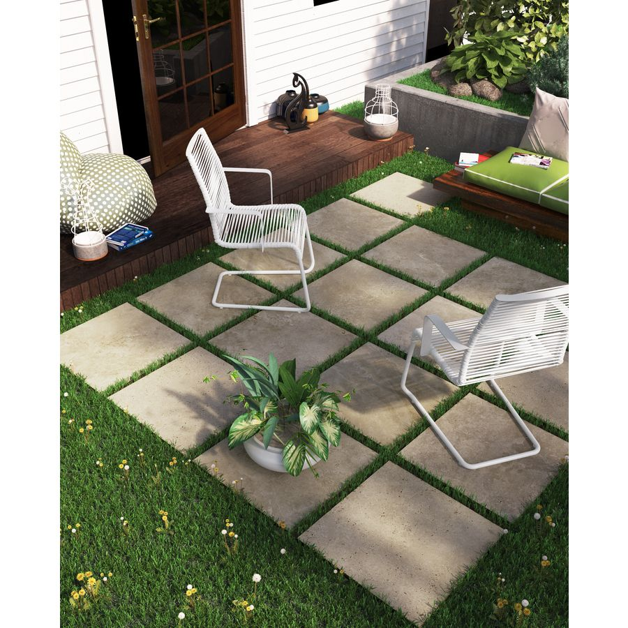 17 97 Lowes 24x24 Patio Pavers With