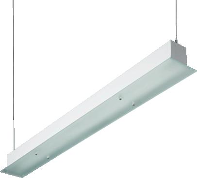 Lls Suspended Williams Fluorescent Linear Luminaire