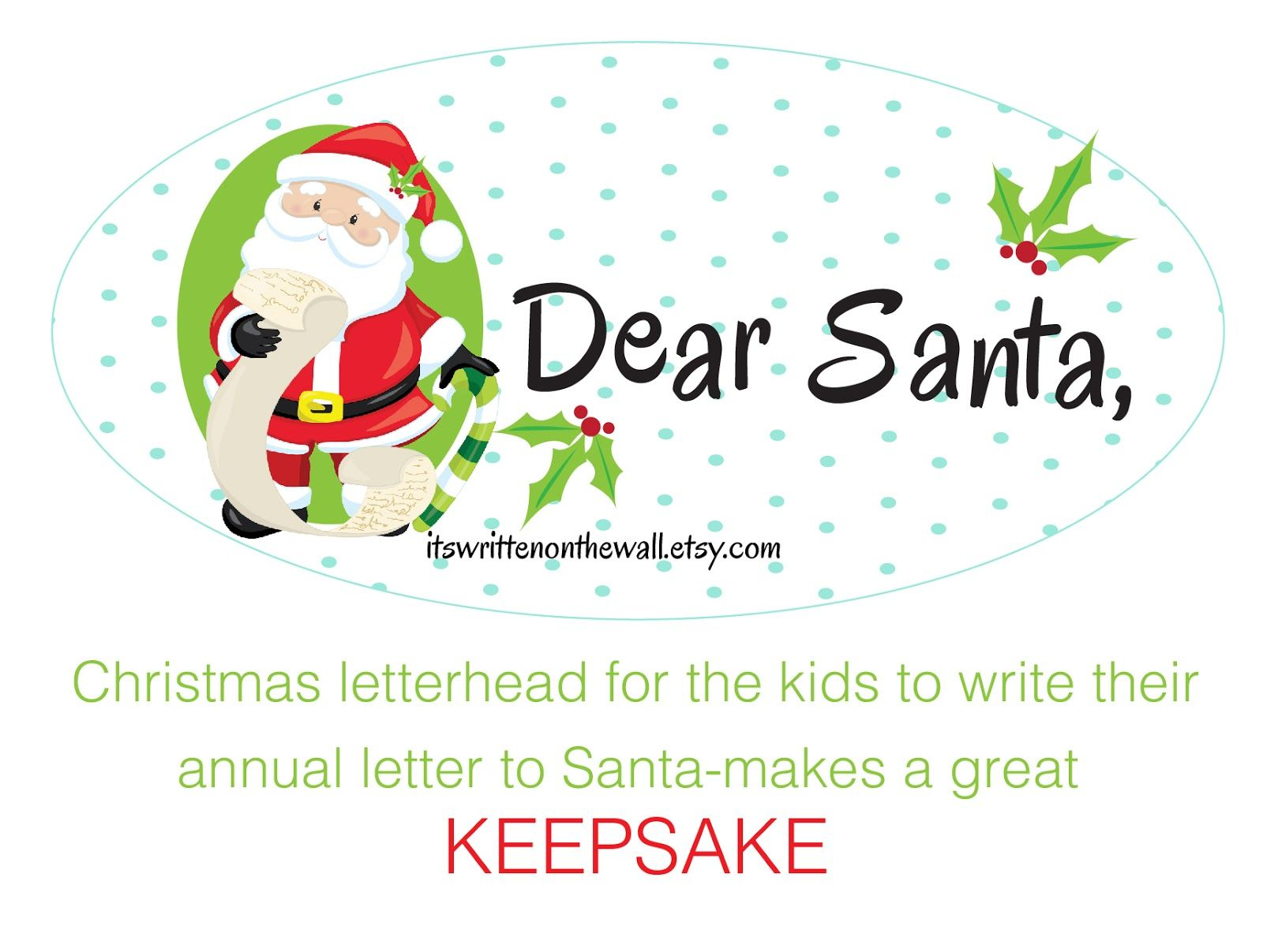 Have Your Kids Written Their Letter To Santa Yet Choose From