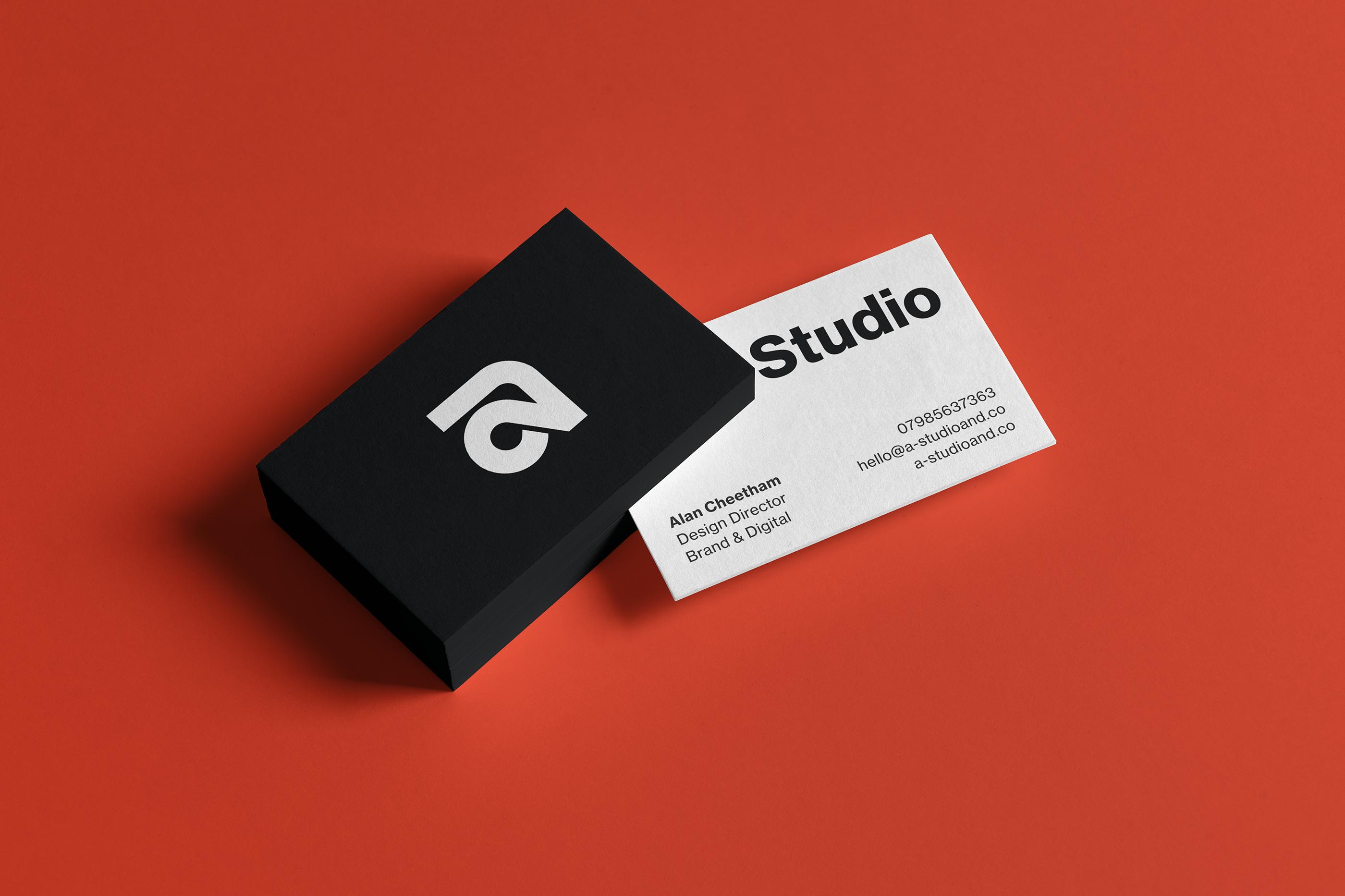 A Studio Business Card Business Card Design Inspiration Business Card Design Business Card Gallery Business Card Inspiration
