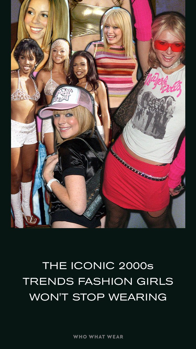 Iconic 2000s Trends That Fashion Girls Are Loving In 2021 In 2021 2000s Trends Girl Fashion 2000s Fashion Trends