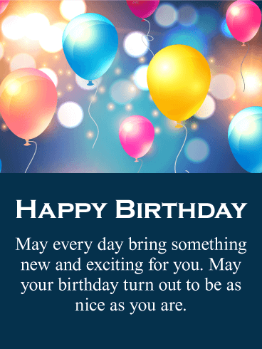 Send Free All The Best Happy Birthday Card To Loved Ones On