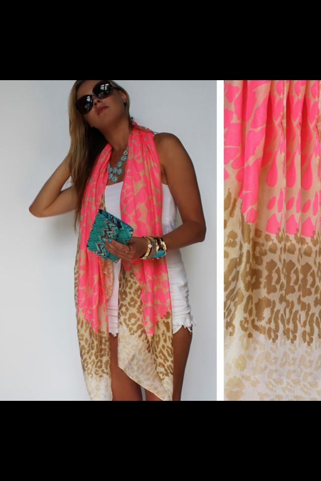 I just ordered this summer scarf.....I'm obsessed, I can't wait until it arrives!