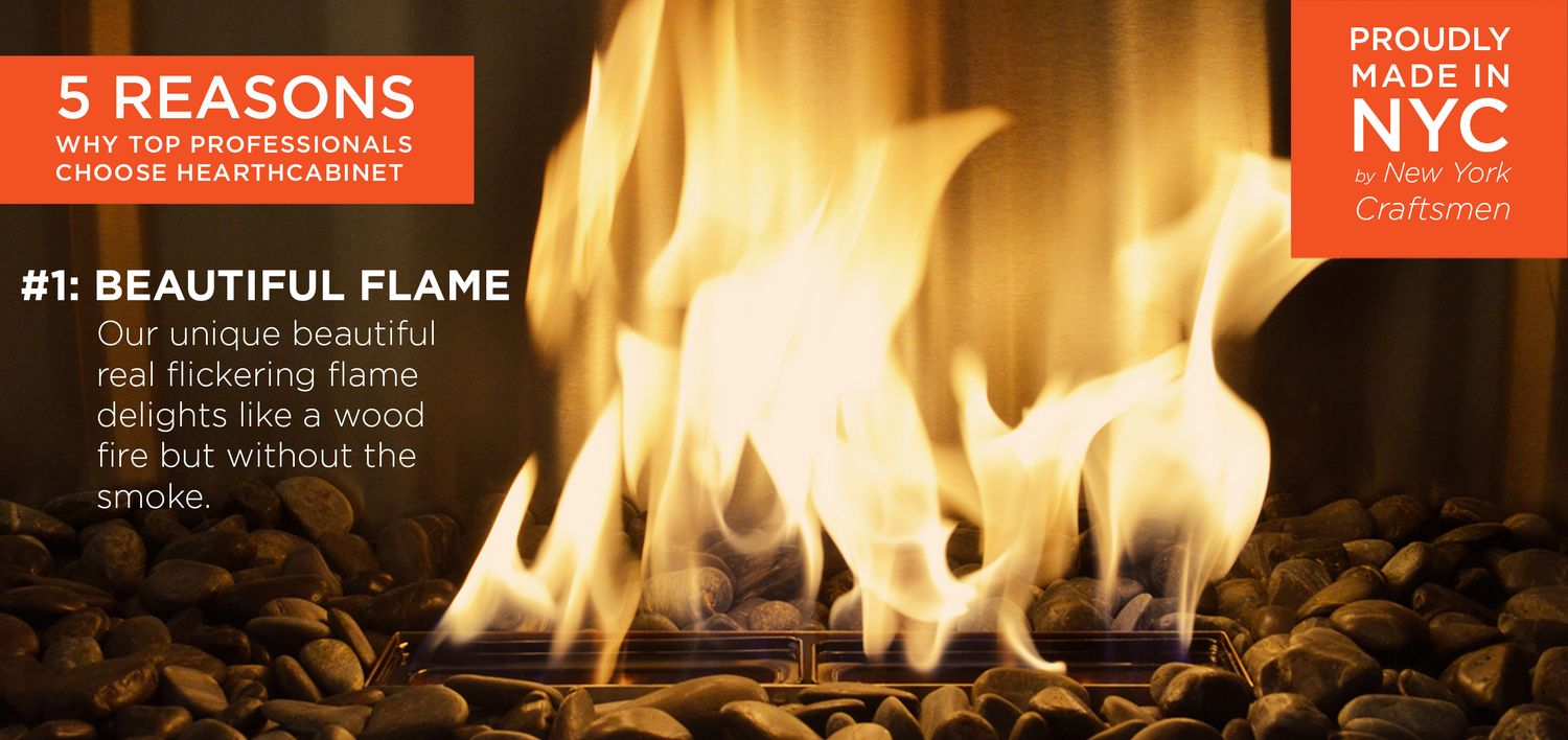 Hearth Cabinet Decorative Fireplaces #ventless #fireplace