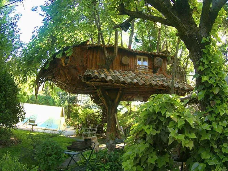 La Casita Del árbol Cuenca Casa Del Arbol Hoteles Estructuras Para Exterior