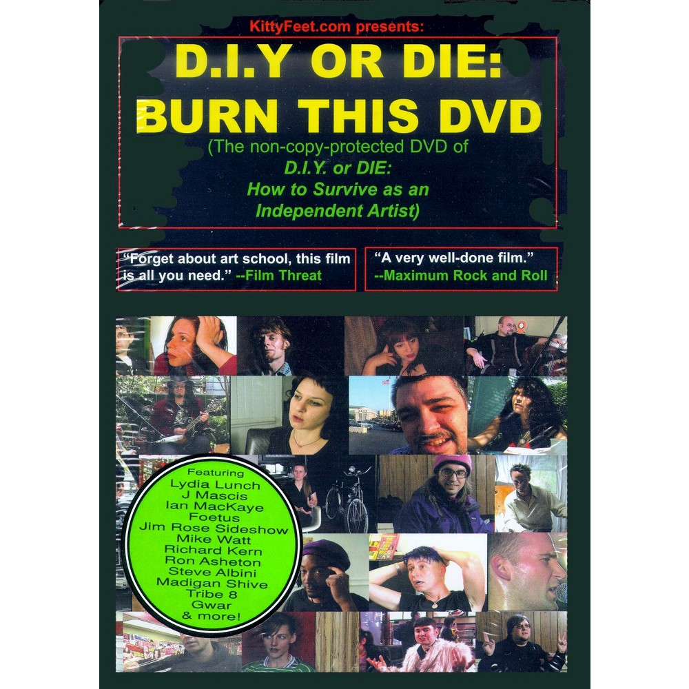 D.I.Y. or Die: How to Survive as an Independent Artist (dvd_video)