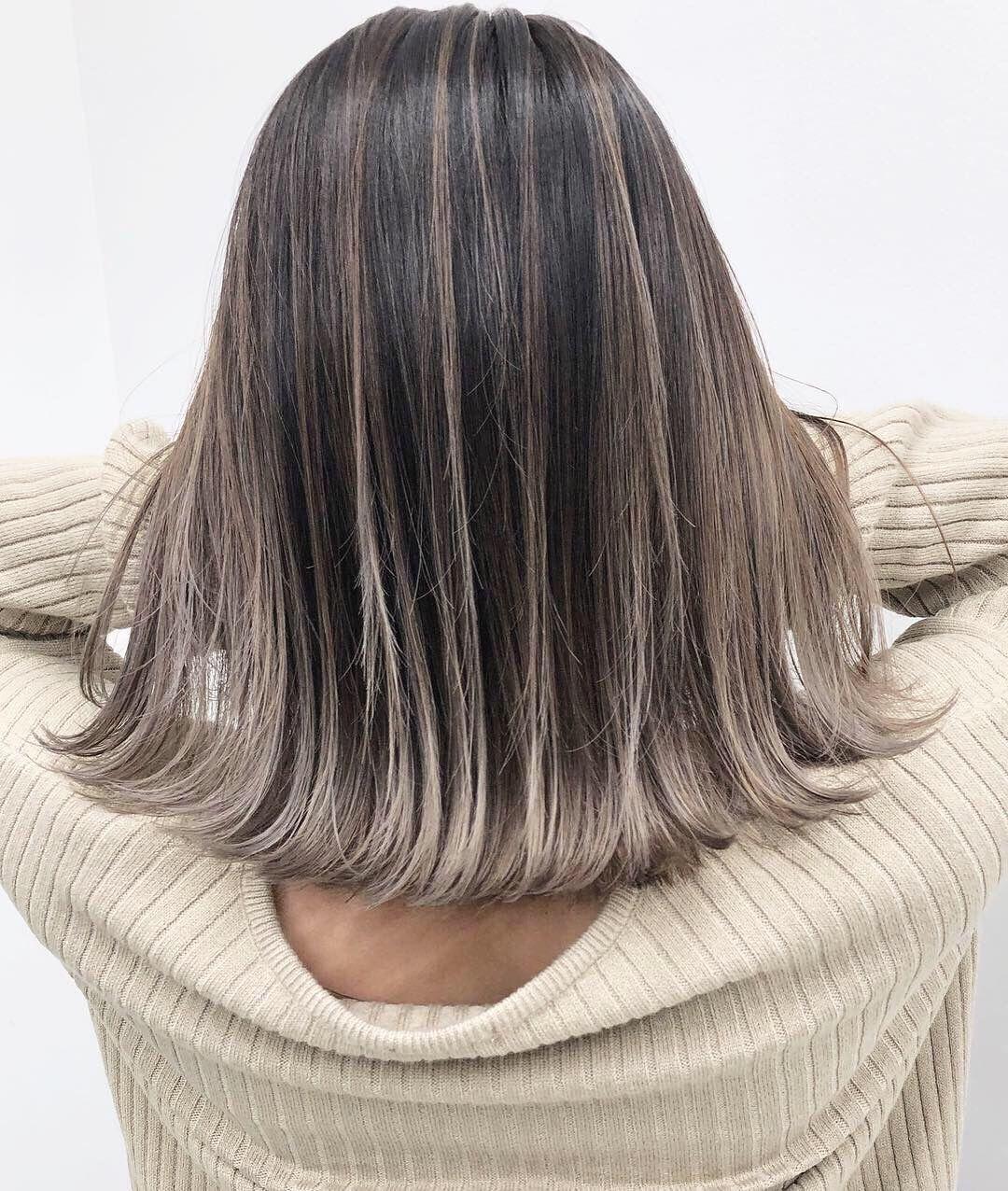 新作バレイヤージュできました 髪 カラー 髪の毛カラー ヘア