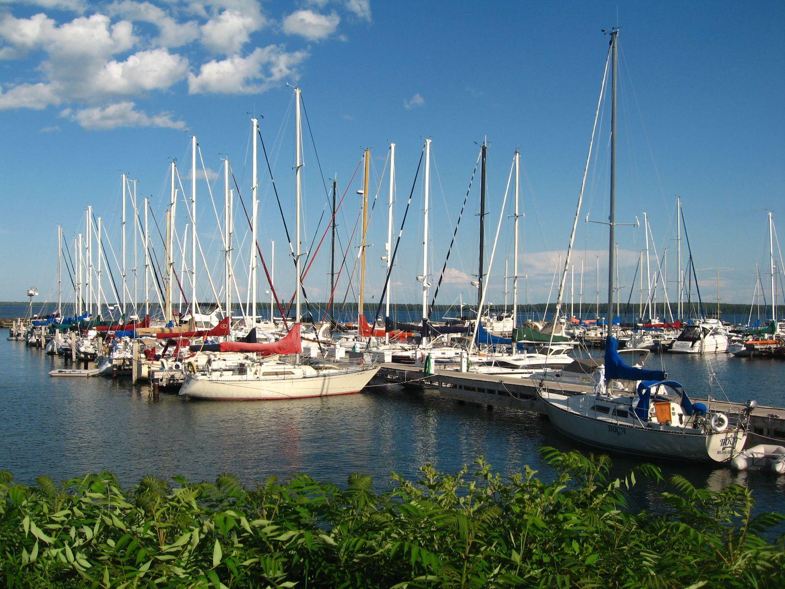 Marina - Bayfield Wisconsin.