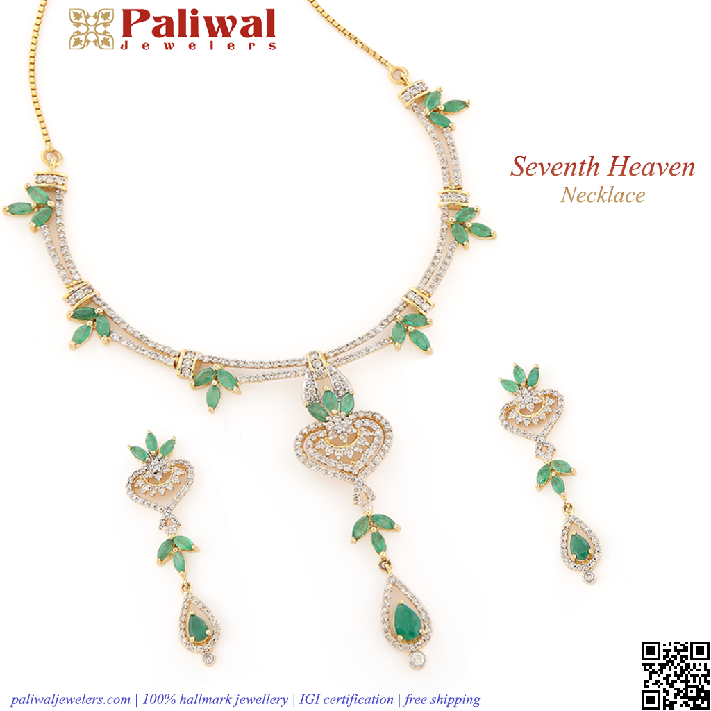 Seventh heaven necklace nk yellow gold necklace grams