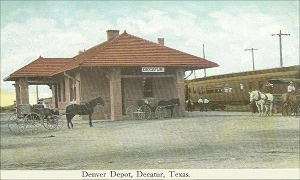 Denver Depot, Decatur, Texas