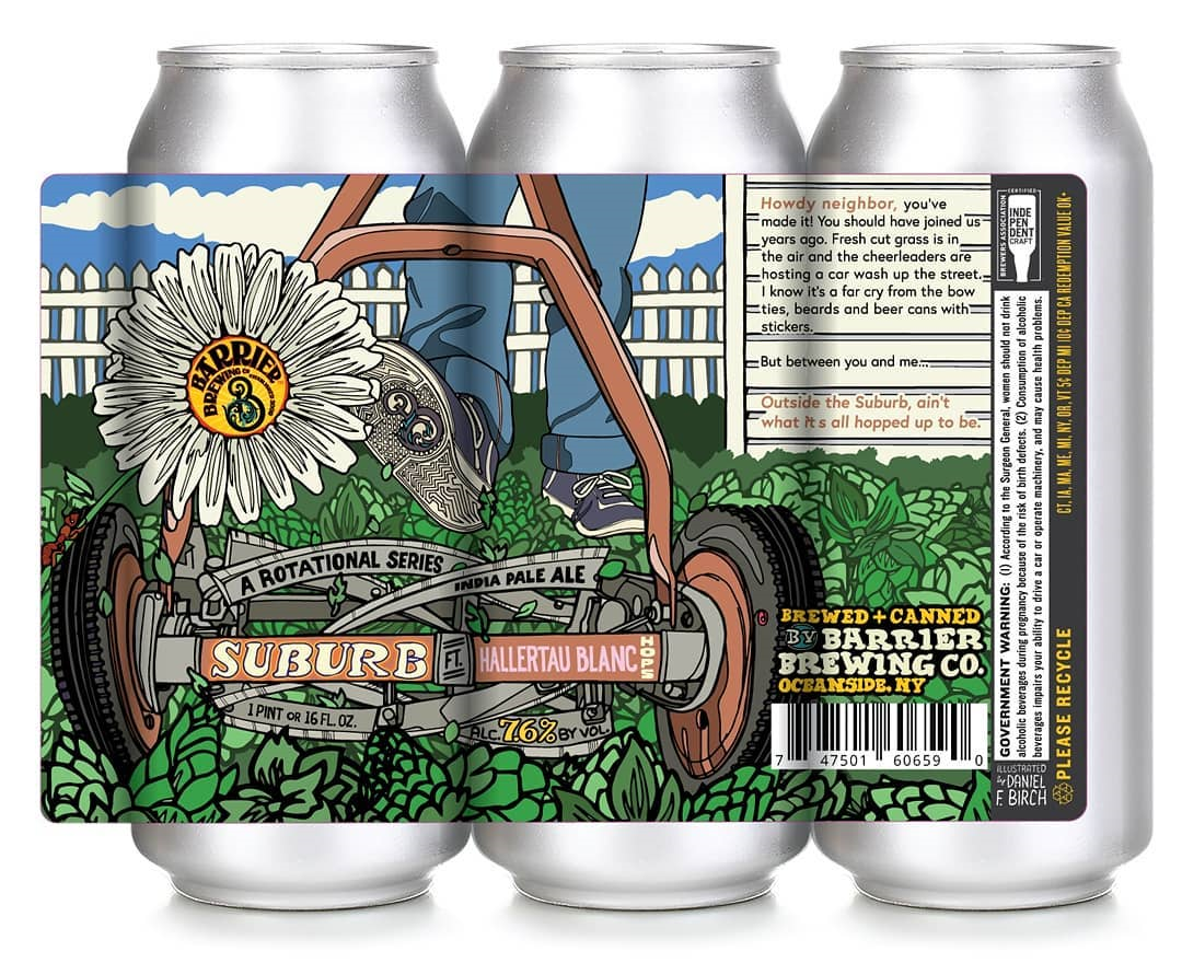 NC Bumper Sticker Hi-Wire Brewing Brewery Asheville