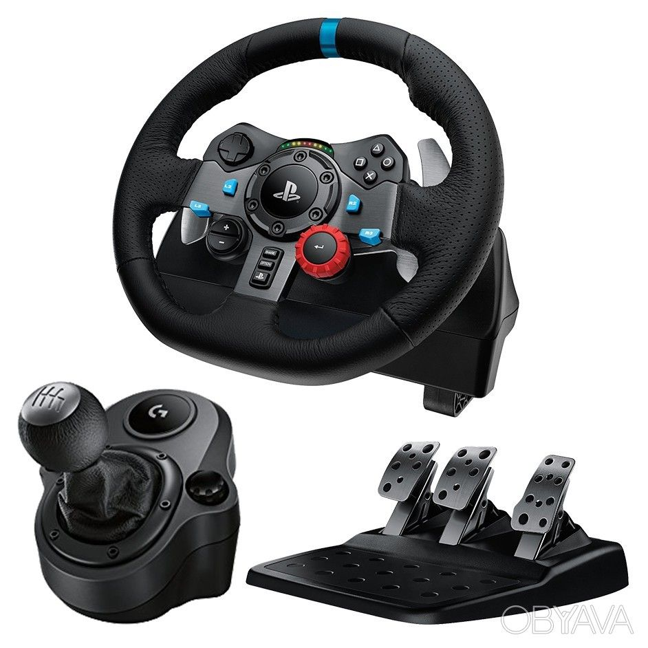 bfcf8e1b194 Руль Logitech G29 Driving Force PS4/PC+Logitech Driving Force Shifter,  Самбір - дошка оголошень OBYAVA.ua