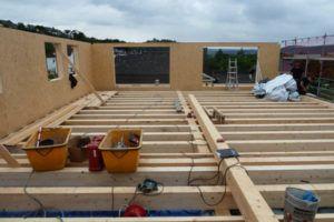 Holzbau Schreinerei Dachgeschoss Bau Zimmerer
