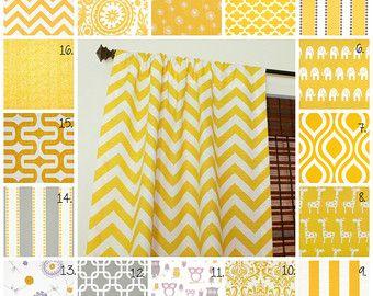 Curtain Panels Set Corn Yellow D Grey Gray Owl Curtains Nursery This