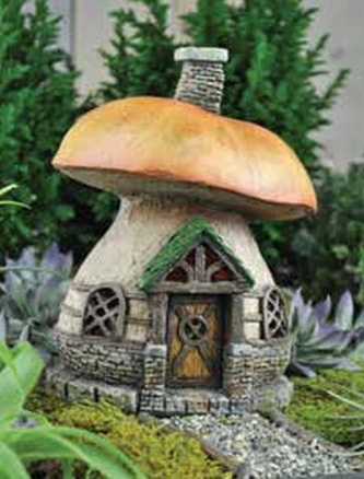 Incroyable Designing An Indoor Fairy Garden Mushroom House Figurine