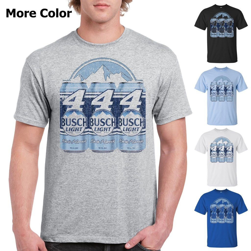 0673c809dc Busch Light Beer T-Shirt Custom Designed Color Worn Label Pattern Custom  Designed Graphic Worn Faded Scratched Pattern Label Logo Colorful Cotton T- Shirt ...